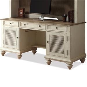 Riverside Furniture Coventry Two Tone Shutter Door Credenza