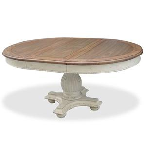 Riverside Furniture Coventry Two Tone Round Dining Table