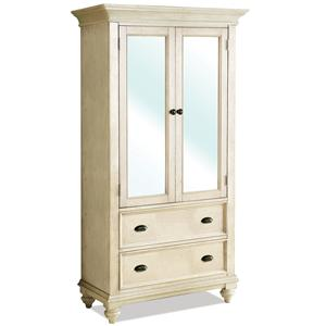 Riverside Furniture Coventry Two Tone Armoire