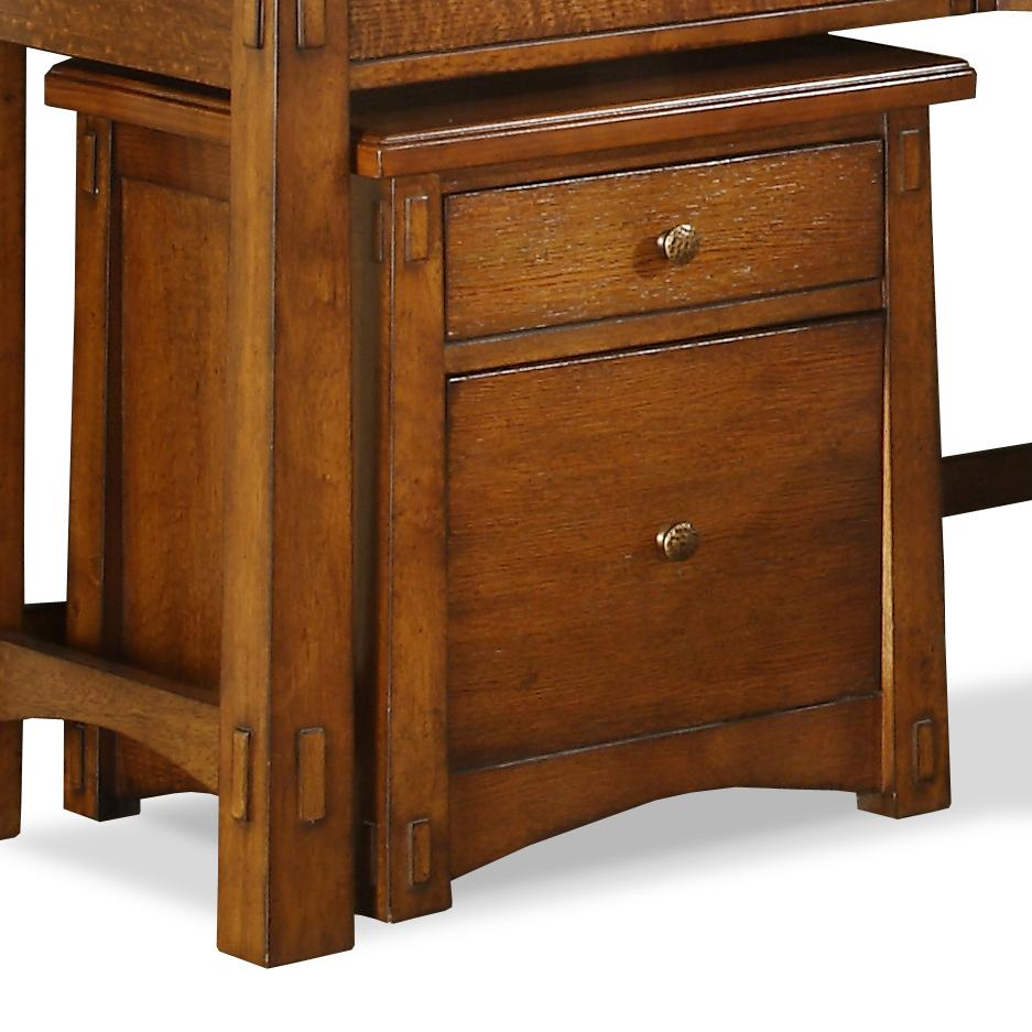 Riverside Furniture Craftsman Home Mobile File Cabinet - Item Number: 2935