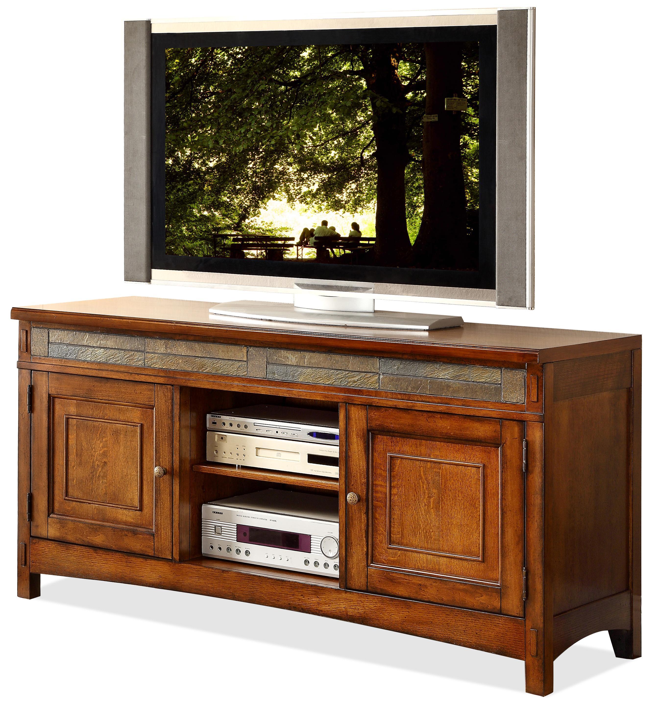 Riverside Furniture Craftsman Home TV Console - Item Number: 2941