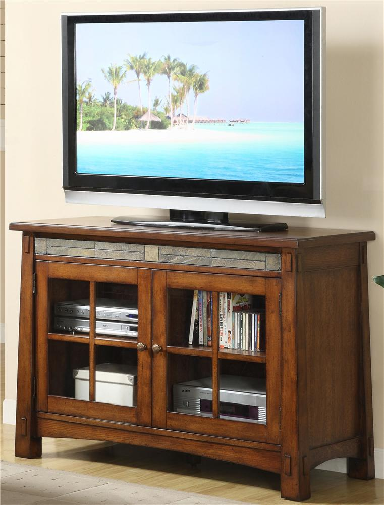 Riverside Furniture Craftsman Home TV Console - Item Number: 2945