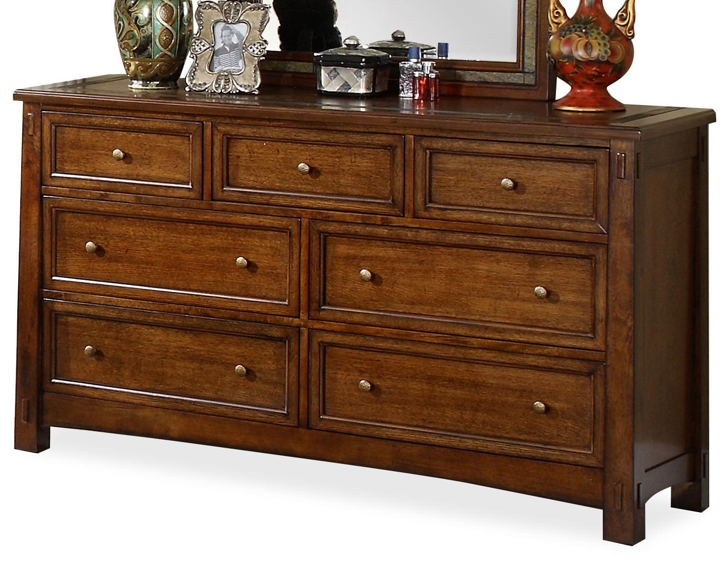 Riverside Furniture Craftsman Home Dresser - Item Number: 2960