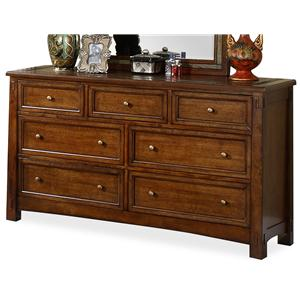 Riverside Furniture Craftsman Home Dresser