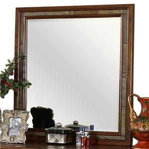Riverside Furniture Craftsman Home Dresser Mirror