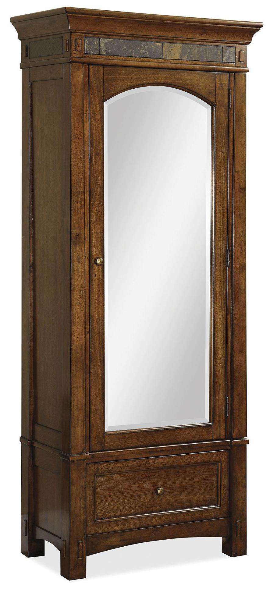 Riverside Furniture Craftsman Home Wardrobe - Item Number: 2966