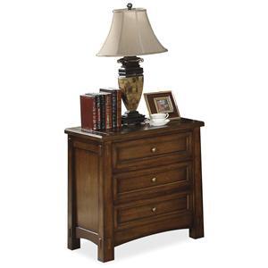 Riverside Furniture Craftsman Home 3 Drawer Nightstand