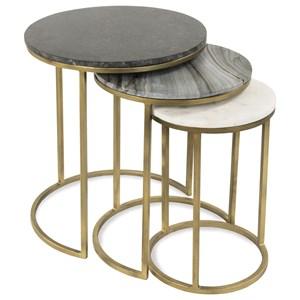Riverside Furniture Dainna Nesting Side Tables