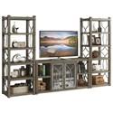 Riverside Furniture Dara II Entertainment Wall Unit - Item Number: 37040+2X37048