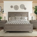 Riverside Furniture Dara II Queen Panel Bed in Gray Wash Finish