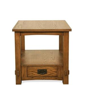 Riverside Furniture Deerfield  End Table