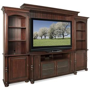 Riverside Furniture Dunmore Entertainment Wall Unit
