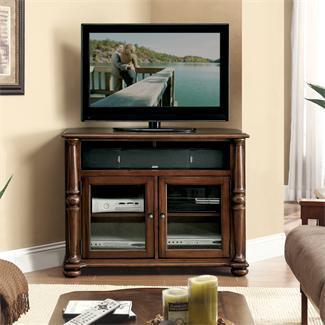 Riverside Furniture Dunmore Corner TV Console - Item Number: 65641