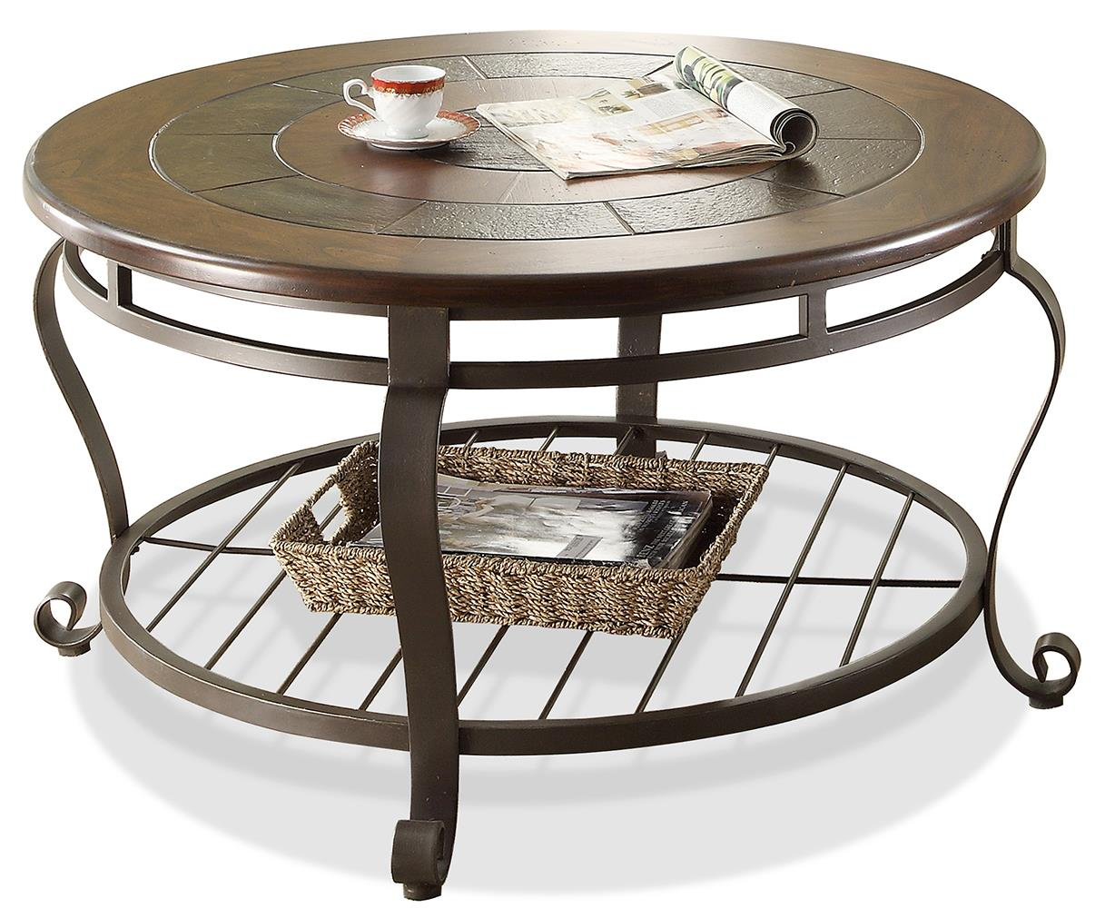 Riverside Furniture Eastview Round Coffee Table - Item Number: 54705
