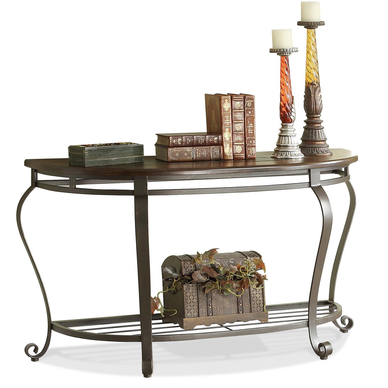 Riverside Furniture Eastview Demilune Sofa Table - Item Number: 54715