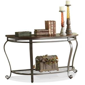 Riverside Furniture Eastview Demilune Sofa Table