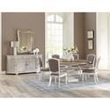 Riverside Furniture Elizabeth Formal Dining Room Group - Item Number: 7160 Dining Room Group 2