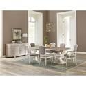 Riverside Furniture Elizabeth Formal Dining Room Group - Item Number: 7160 Dining Room Group 5