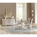 Riverside Furniture Elizabeth Casual Dining Room Group - Item Number: 7160 Dining Room Group 9