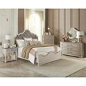 Riverside Furniture Elizabeth California King Bedroom Group - Item Number: 7160 CK Bedroom Group 4