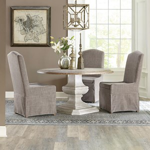 4 Piece Table and Chair Set