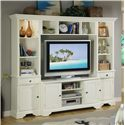 Riverside Furniture Essex Point Entertainment Wall Unit - Shown in Room Setting