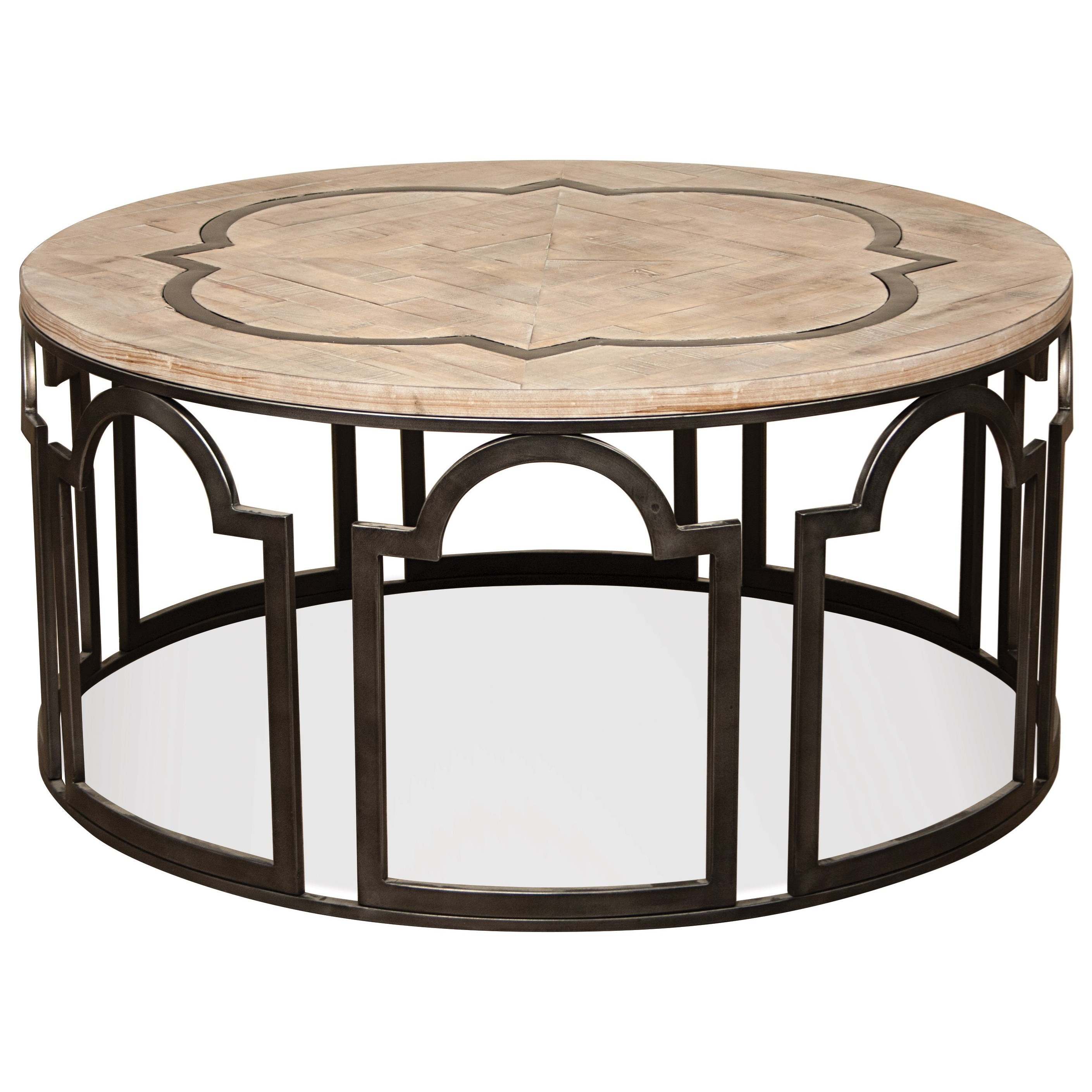 Riverside Furniture Estelle Round Cocktail Table Item Number 20102
