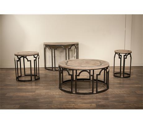 Riverside Furniture Estelle 20109 Round End Table Hudson 39 S Furniture End Tables