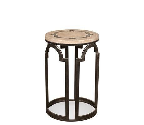 Riverside Furniture Estelle Round Chairside Table - Item Number: 20112