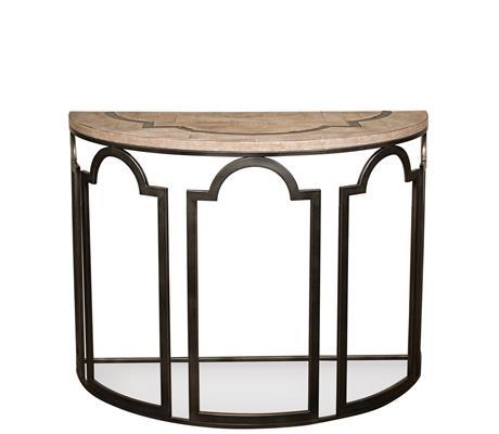 Riverside Furniture Estelle Demilune Sofa Table - Item Number: 20115