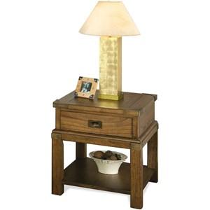 Riverside Furniture Falls Creek End Table