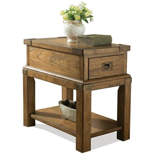 Riverside Furniture Falls Creek Chairside Table