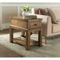 Riverside Furniture Falls Creek 1 Drawer Chairside Table