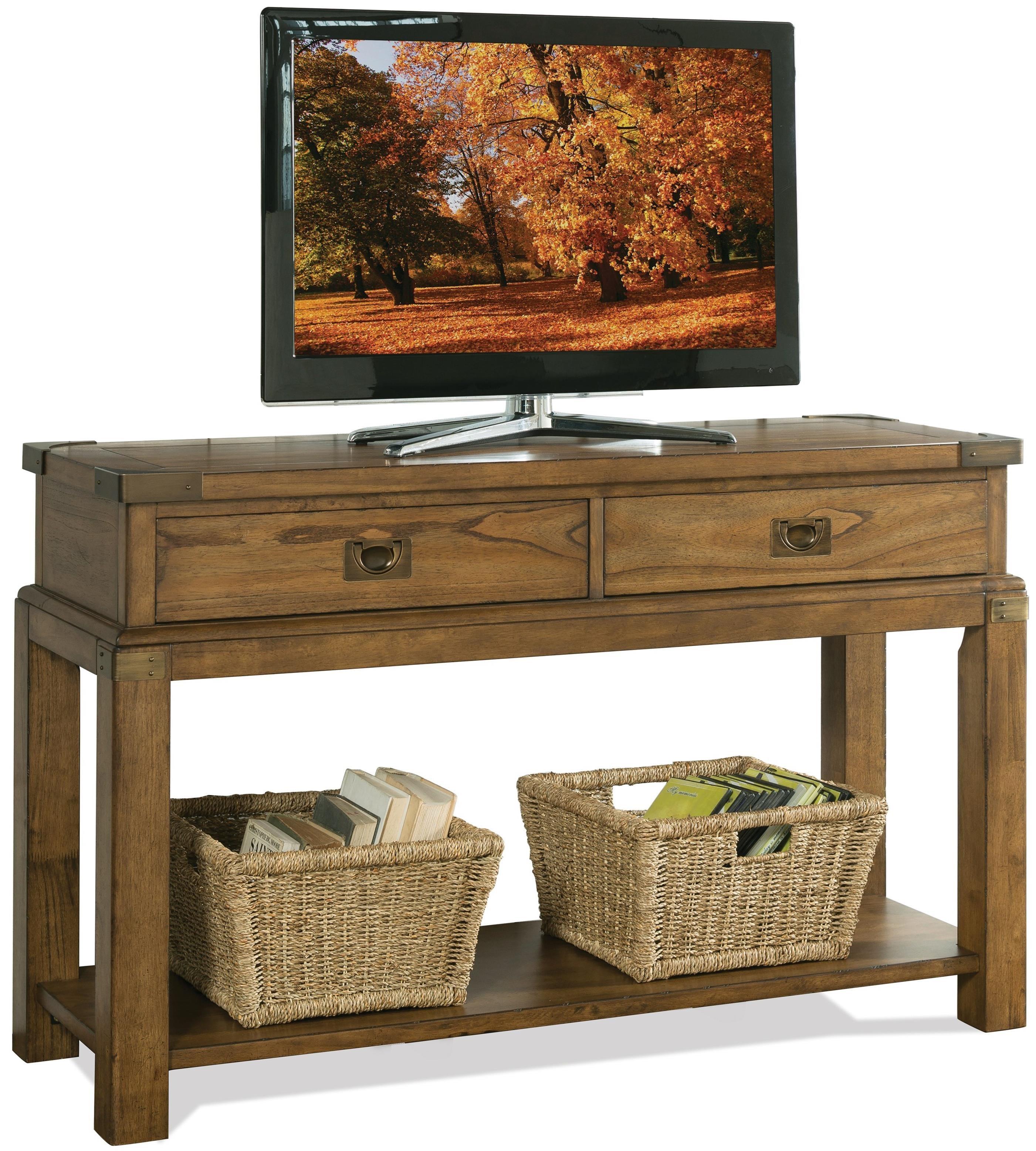 Riverside Furniture Falls Creek Console Table - Item Number: 16115
