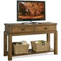 Riverside Furniture Falls Creek 2 Drawer Console Table