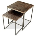 Riverside Furniture Fusion Nesting End Table - Item Number: 41508