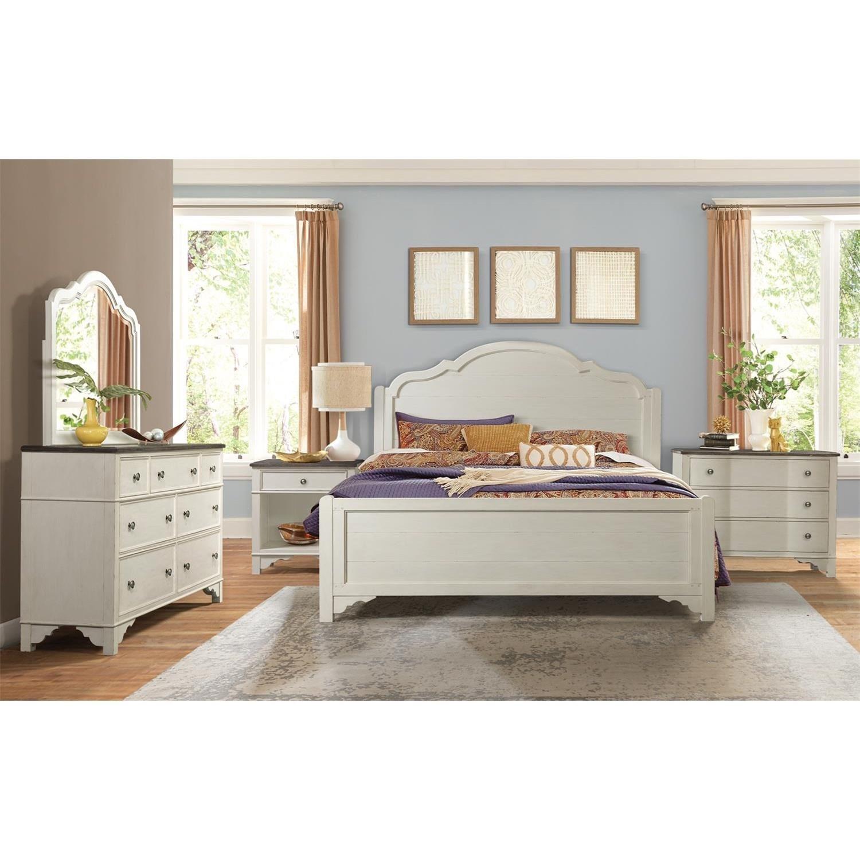 Riverside Furniture Grand Haven Queen Bedroom Group ...