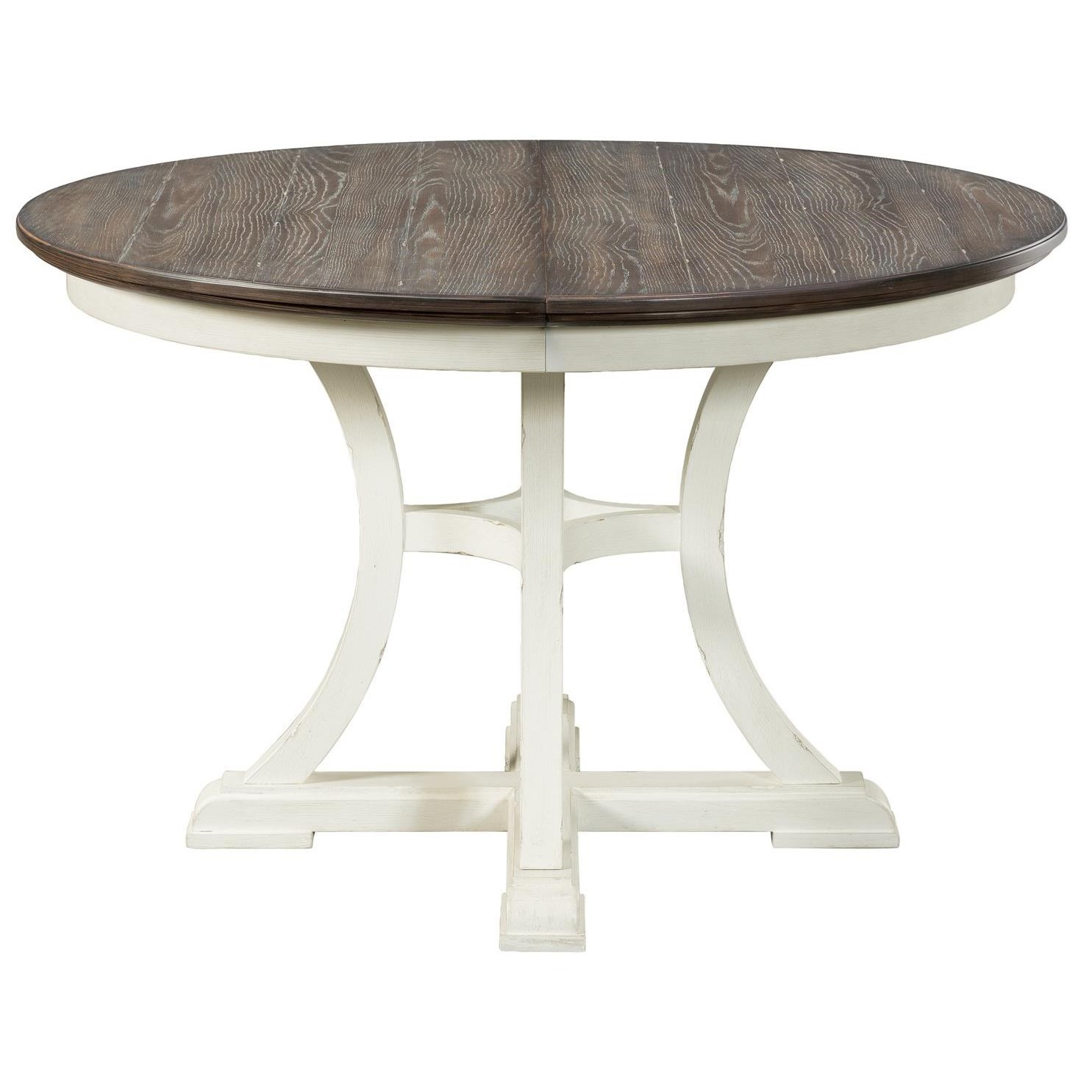 Riverside Furniture Grand Haven Cottage Round Dining Table
