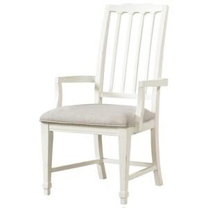 Arm Chair Slat Uph