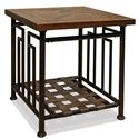 Riverside Furniture Granville End Table w/ Herringbone Inlay - 78909