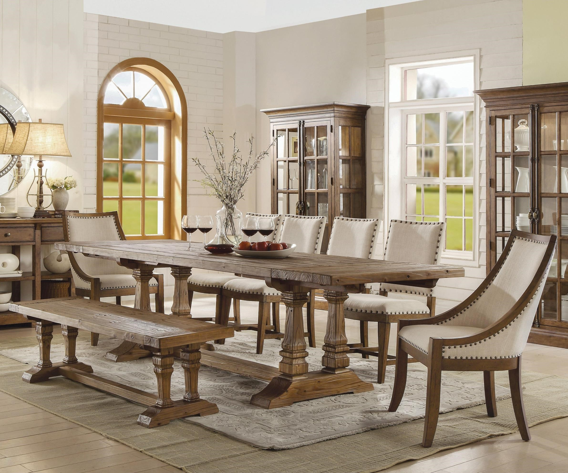 Riverside Furniture Hawthorne 8 Piece Table And Chair Set