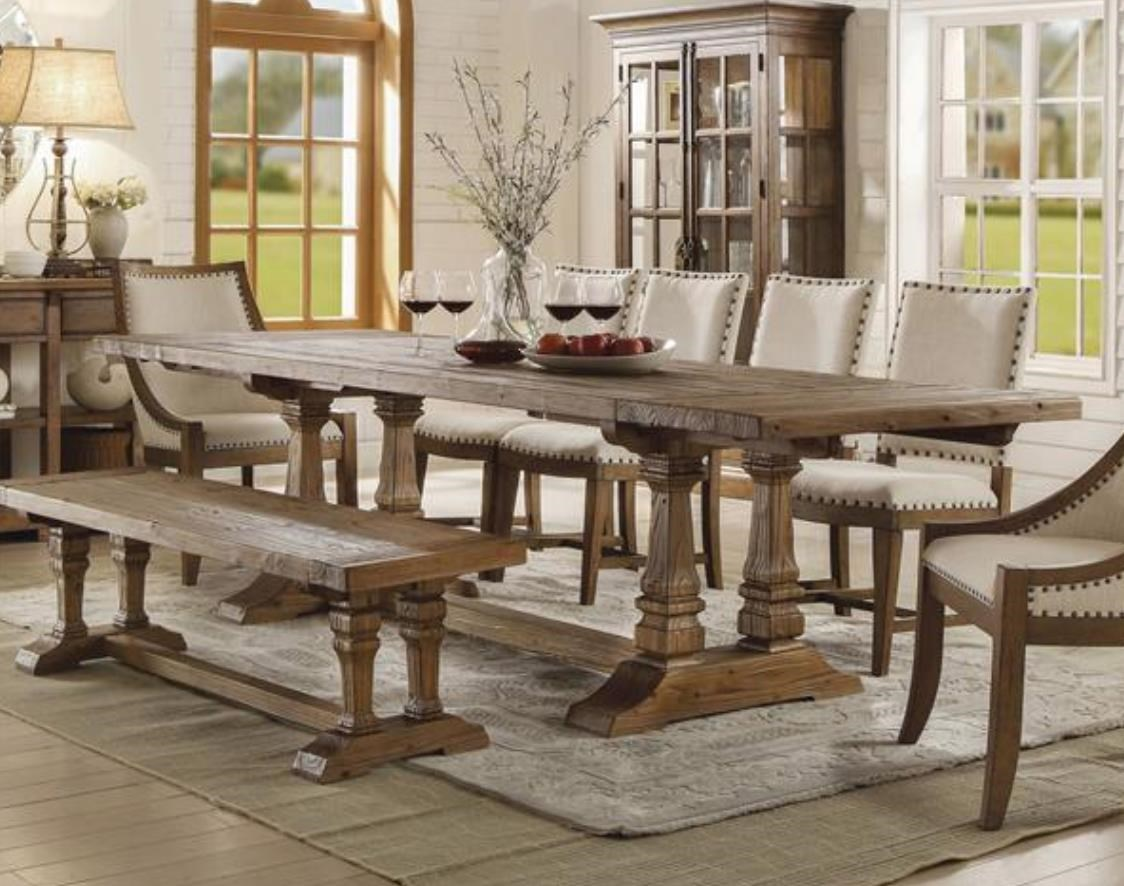 Table & 4 Chairs with Bench