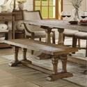 Riverside Furniture Hawthorne Solid Wood Dining Bench