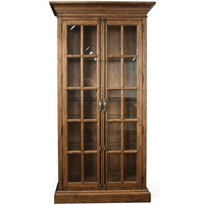 Riverside Furniture Hawthorne Display Cabinet