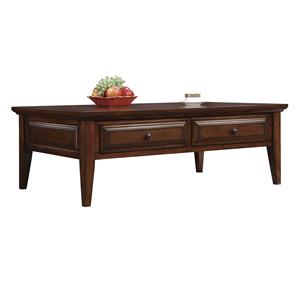 Riverside Furniture Hilborne 2 Drawer Coffee Table