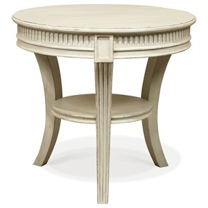 Riverside Furniture Huntleigh Round End Table