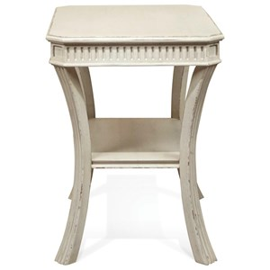 Riverside Furniture Huntleigh Rectangle Chairside Table