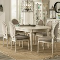 Riverside Furniture Huntleigh 7 Piece Table and Chair Set - Item Number: 10220+6x7