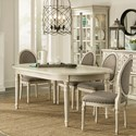 Riverside Furniture Huntleigh Oval Dining Table with 18
