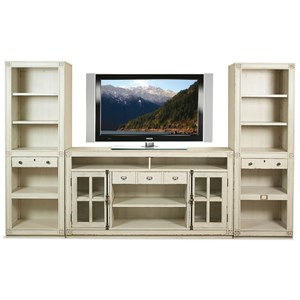 Riverside Furniture Huntleigh Entertainment Wall Unit